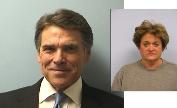 Perry and Lehmberg Mugshots