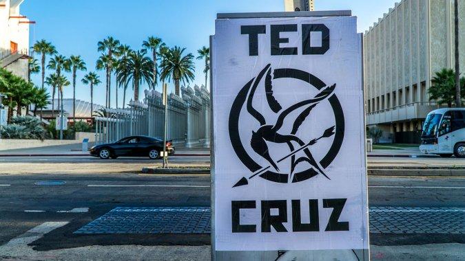 Ted Cruz Mockingjay