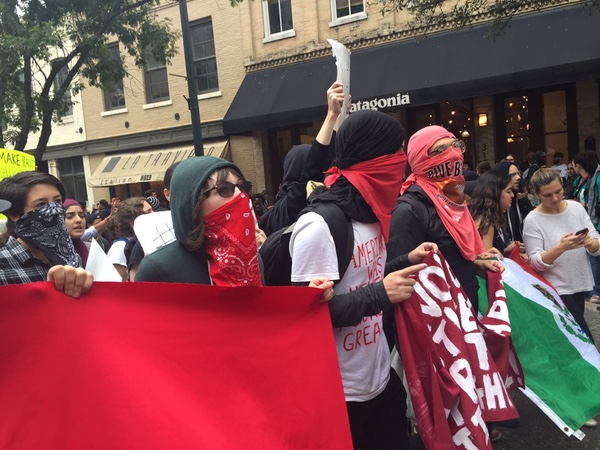 UT protest