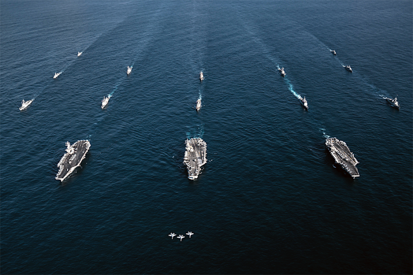 Three carriers